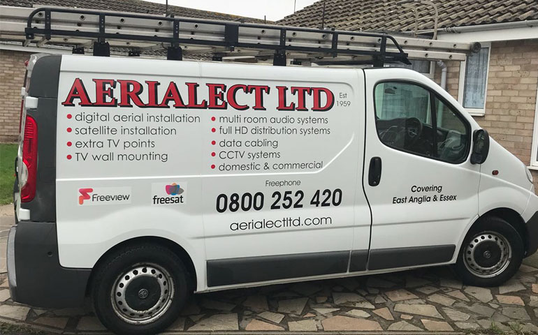 aerialect ltd van